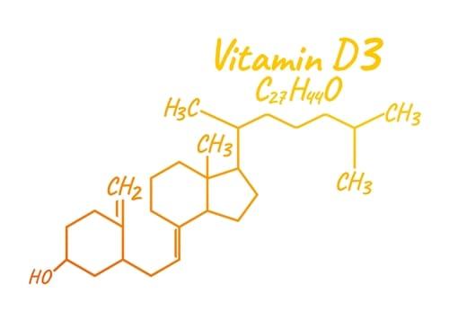Vitamin D3 Formel Struktur Zusammensetzung Supplement